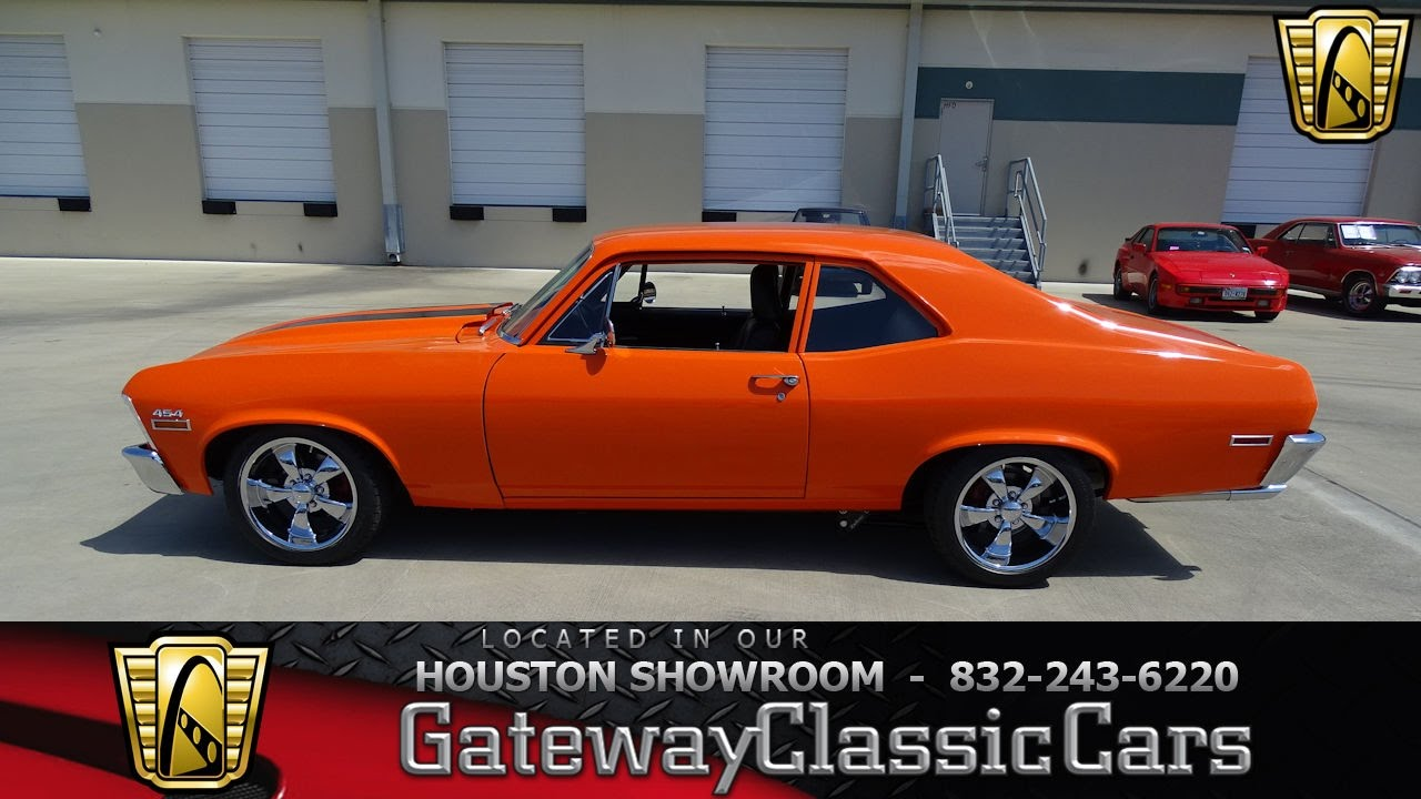 Hou Chevrolet Nova Gateway Classic Cars Houston Youtube