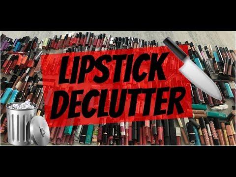 MASSIVE LIPSTICK DECLUTTER OVER 500!!!!!! | MY LIPSTICK COLLECTION | MAKEUPMOLLY