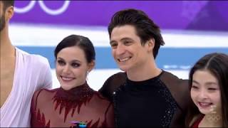 Tessa Virtue and Scott Moir - Winning Gold - Pyeongchang 2018 Olympics