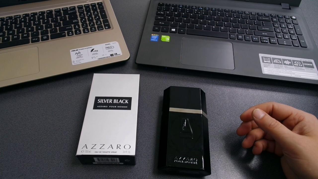 Review Lb Parfum Silver Romana Black Azzaro nmNwv80