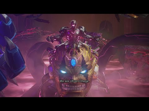 MARVEL VS CAPCOM INFINITE Ending & Final Boss Ultron Omega