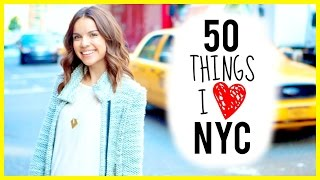 50 Things I Love About NYC Thumbnail