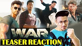 WAR | Official Teaser Reaction | Review | Hrithik Roshan, Tiger Shroff, Vaani Kapoor