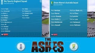 Ashes Panel: The Pundits' Squad For 2017/18