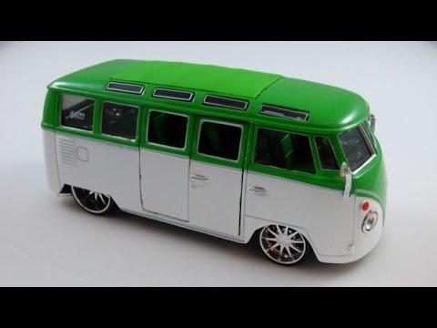 Maisto- VW Van Samba Review - YouTube