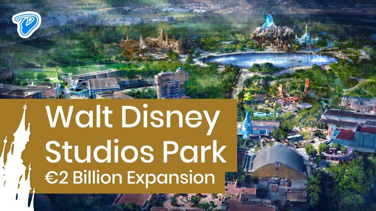 Walt Disney makes 2 billion euros investment in Disneyland Paris