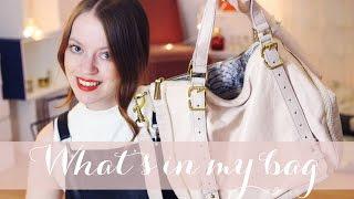 WHAT'S IN MY BAG? (enthält Produktplatzierung)
