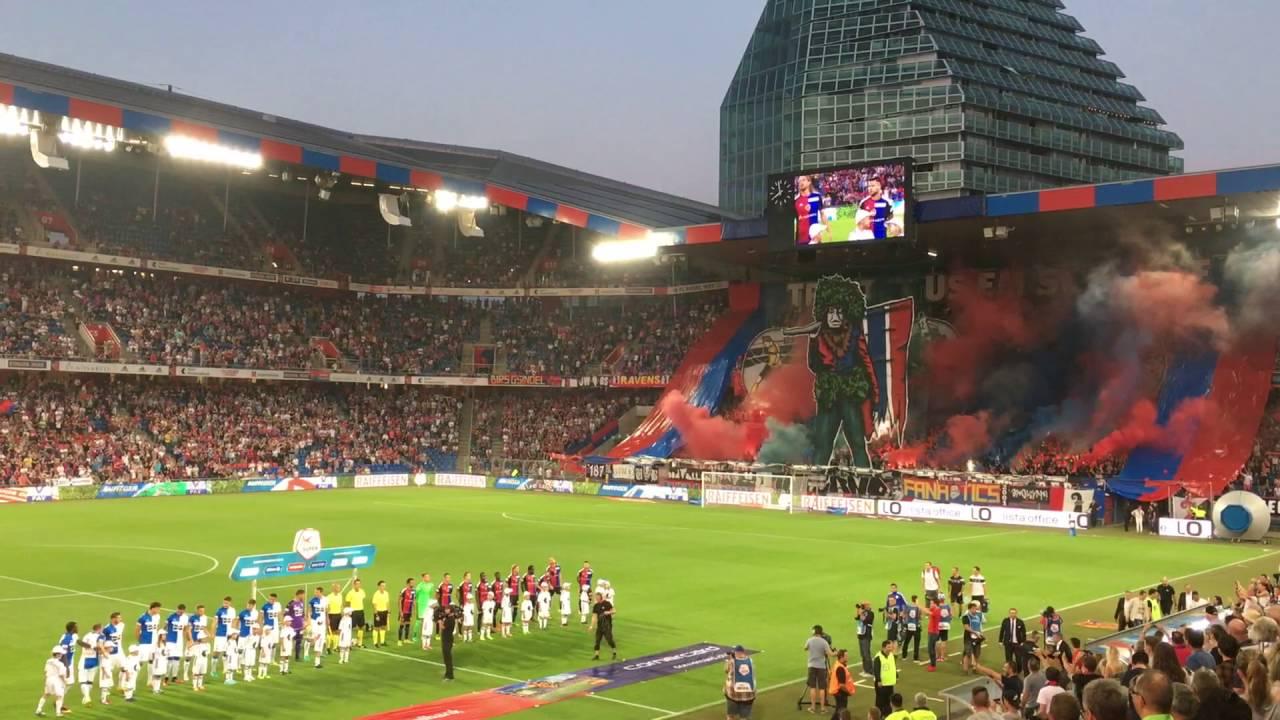 FC Basel  GC  Wilde Maa Choreo Muttenzerkurve  YouTube