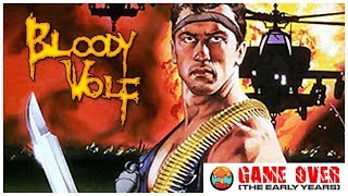 Game Over: Bloody Wolf (TurboGrafx-16 & Arcade) - Defunct Games