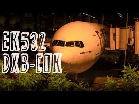 Emirates EK532 : Flying from Dubai to Kochi