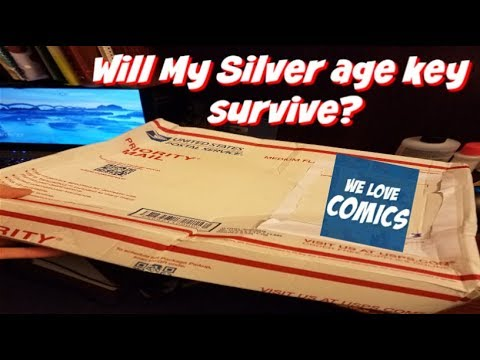 Destroyed package : Will my MEGA KEY silver age comic be too?