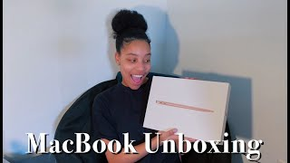 MACBOOK AIR UNBOXING | SO LONG AWAITED