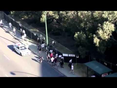 Fence jumpers filmed gatecrashing Perth Listen Out festival