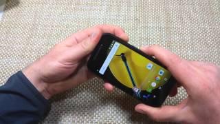 Motorola Moto E 4G (2nd Generation) How to Soft reset, reboot if crashing freezing or won't power on