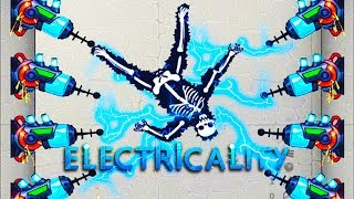 Using 1,000,000 Volts To Electrocute A Dummy in Happy Room Dungeon - Electricality