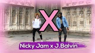 X(EQUIS) - Nicky Jam f.t J.Balvin (Coreografía) ZUMBATON | Zumba Dance by YSEL GONZÁLEZ