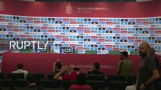 Live: Spanish player Vazquez holds press conference in Krasnodar