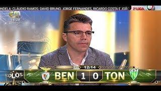 BENFICA x TONDELA GOLO DE PIZZI 12 MIN CMTV 28.04.2018