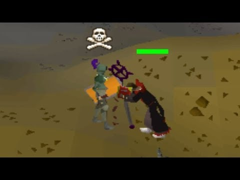 Logging in under people looting (Skull Tricking)