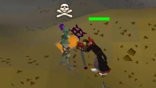Logging in under people looting (Skull Tricking)