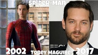 Spider-Man Then and Now 2017