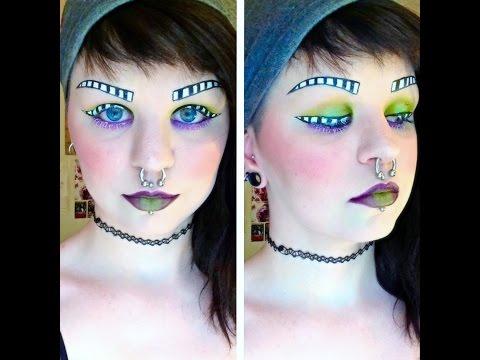 Beetlejuice Inspired Makeup Tutorial | Astrid Aesthetic