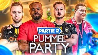 QUI SERAS LE GRAND CHAMPION ?🎬 BEST OF PUMMEL PARTY AVEC LES MANE ► Partie 2