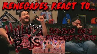 Renegades React to... HELLUVA BOSS - Spring Broken // S1: Episode 3 by: @Vivziepop