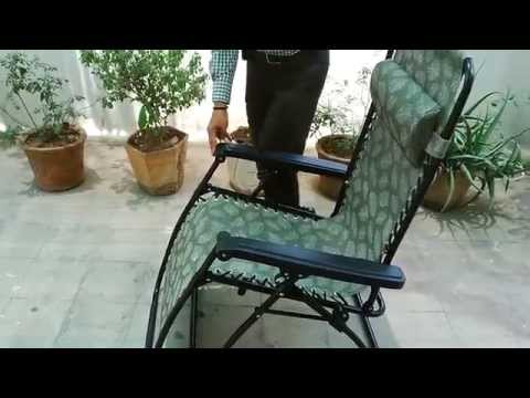 Reclining Rocking Chair Folding Gravity