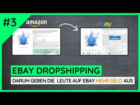 Warum sollten die Kunden teurer auf Ebay einkaufen? - Ebay Dropshipping Tutorial #3 | NetCash thumbnail