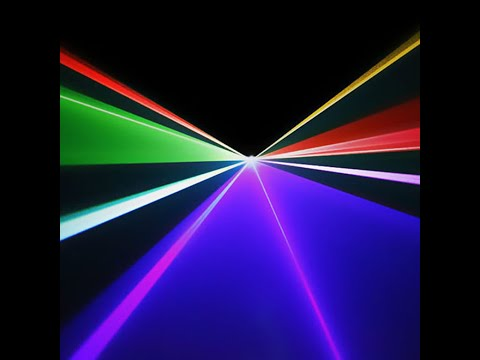 IR DMX Mini RGB Full Color Laser Stage Lighting Scanner DJ Dance Party Show Lights DM-RGB400