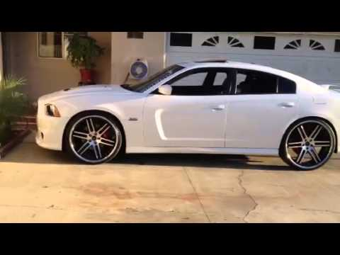2013 Charger Srt8 On 24s And 26s Youtube
