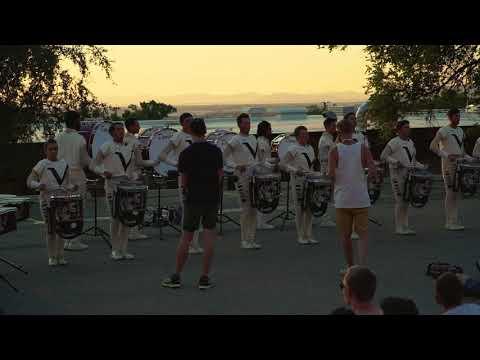 DCI in the Lot: Vanguard Drum Line