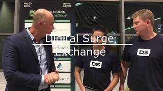 Interview with Digital Surge - Australian based new CryptoCurrency  Exchange