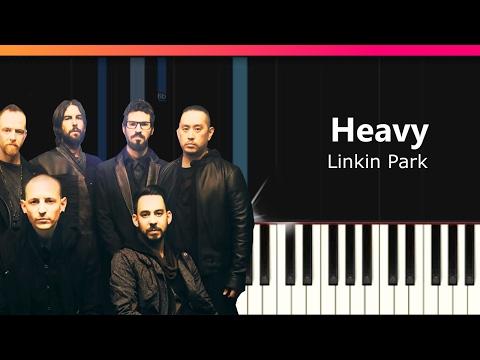 """Linkin Park - """"Heavy"""" ft Kiiara Piano Tutorial - Chords - How To Play - Cover"""