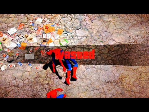 GTA 5 Epic Wasted Compilation SpiderMan ep.83 (Funny Moments)