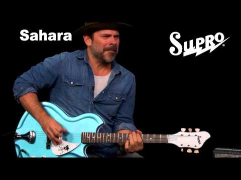Supro Sahara Guitar Official Demo by Ford Thurston