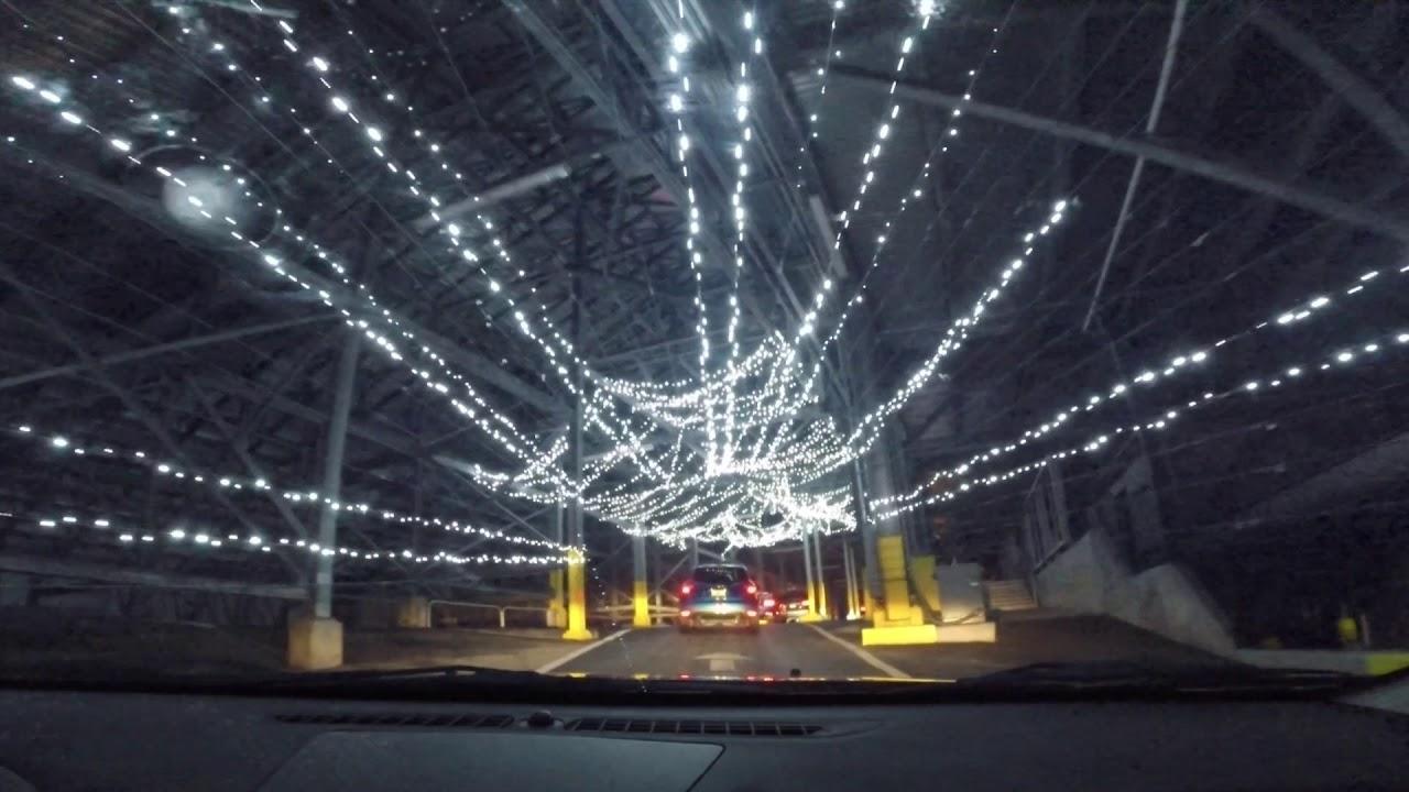 magic lights at daytona speedway december 2017