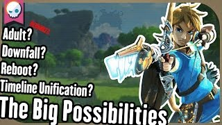 Breath of the Wild Timeline Theories Explained! | Gnoggin