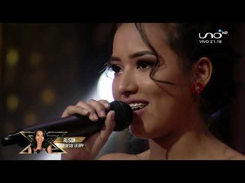 Me nace del corazón - Rocío Durcal - Alison Factor X 2019