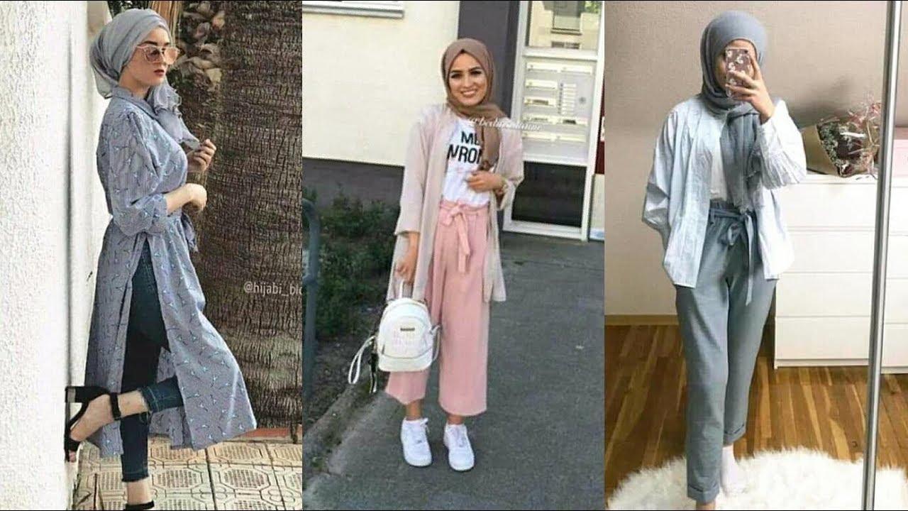 f28a27baf88a3 هذه موضة حجاب صيف 2019 Fashion hijab - YouTube