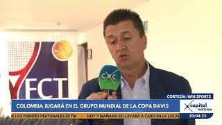 ¡Histórico! Colombia estará en el Grupo Mundial de la Copa Davis