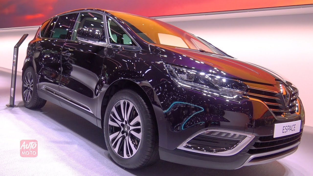 2019 renault espace initial paris exterior and interior walkaround 2018 paris motor show. Black Bedroom Furniture Sets. Home Design Ideas