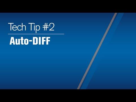 Tech Tip 2021 #2 : Auto-DIFF