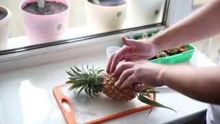 Выращиваем ананас в домашних условиях(ВНИМАНИЕ! Обновленное видео тут https://youtu.be/FVKwxHDDc8k В этом видео мы покажем как правильно укоренить и вырастит..., 2015-04-05T17:47:56.000Z)