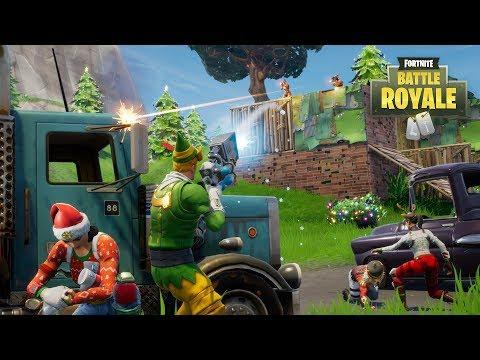 FORTNITE BATTLE ROYALE LIVESTREAM (PS4 Pro) Christmas Update Livestream