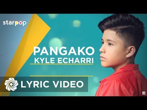 Kyle Echarri - Pangako (Official Lyric Video)