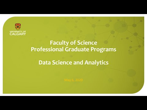 Data Science And Analytics Information Session - May 6 2020