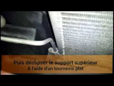 comment remplacer le condenseur de climatisation sur une c3 ann e 2005 youtube. Black Bedroom Furniture Sets. Home Design Ideas