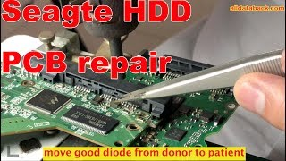 ST3000DM001 seagate HDD repair data recovery